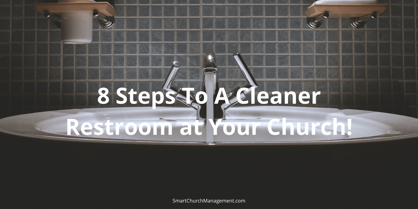 how to clean a church restroom