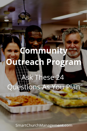 planning a community outreach program